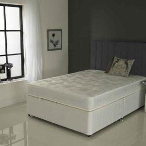 Three quarter divan bed 120cm Three quarter divan bed